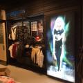 アパレル店舗内LED電飾アクリルサイン工事